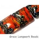 10706814 - Four Bonfire Shimmer Pillow Beads