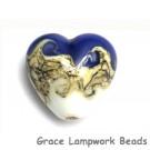 11808905 - White w/Ink Blue Heart
