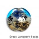 11815902 - Seashell Beach Lentil Focal Bead
