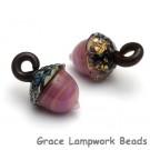 11820119 - Fresh Heather Acorn Earring Set