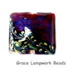 11836104 - Violet Shimmer Pillow Focal Bead