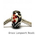 SC10110 - Large Hole Tranquility Vines Rondelle Bead