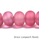 10110201 - Seven Bubblegum Rondelle Beads