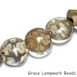10303402 - Seven Ivory within Crystal Clear Lentil Beads