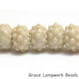 10306101 - Seven Cream Rondelle Beads