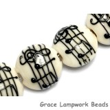 10306212 - Four Musical Notes Lentil Beads