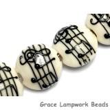 10306212 - Four Musical Notes Lentil Beads