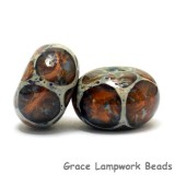 10412221 - Six Nature's Wonder Rondelle Beads