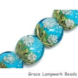10414412 - Four Dandelion Wishes Lentil Beads