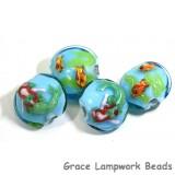 Mermaid Grace Lampwork Beads