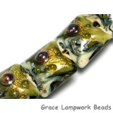 10505204 - Seven Emerald Treasure Pillow Beads