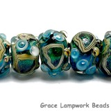 10508301 - Seven Mirage Lake Rondelle Beads