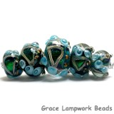 10508311 - Five Mirage Lake Graduated Rondelle Beads