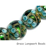 10508312 - Four Mirage Lake Lentil Beads