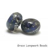 10604101 - Seven Indigo Night Celestial Rondelle Beads