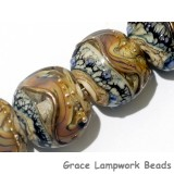 10902402 - Seven Beige & Ivory Free Style Lentil Beads