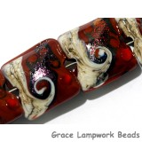 10903014 - Four Hot Lava Waves Pillow Beads