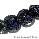 11006212 - Four Lilac Light Lentil Beads