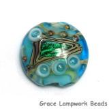 11803702 - Mirage Lake Lentil Focal Bead