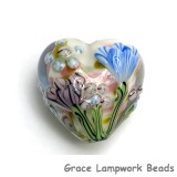 11805105 - Light Pink w/Blue Floral Heart