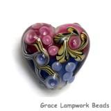 11806205 - Hot Pink w/Purple Free Style Heart