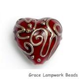 11806705 - Ivory w/Pink & Beige Stringer Heart