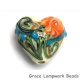 11809205 - Turquoise Autumn Heart