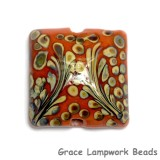 11811704 - Coral w/Beige Pillow Focal Bead