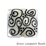 11813104 - Black & White Pillow Focal Bead