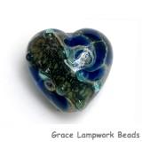 11813705 - Deep Ocean Blue w/Silver Foil Heart