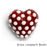 11814705 - Red w/White Dots Heart