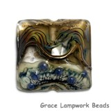 11815804 - Beige & Ivory Free Style Pillow Focal Bead