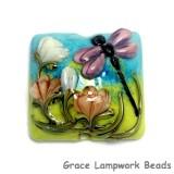 11816904 - Purple Dragonfly Pillow Focal Bead