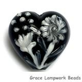 11817025 - Midnight Garden Heart (Large)