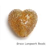 11817405 - Golden Yellow Metallic Heart