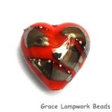 11819505 - Electric Orange Metallic Heart