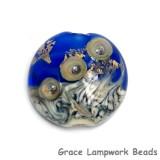 11819702 - Cobalt Treasure Lentil Focal Bead