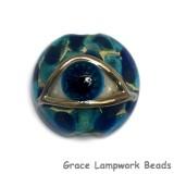 11830602 - Blue Eyed Lentil Focal Bead