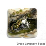 11831204 - Olive Stardust Pillow Focal Bead