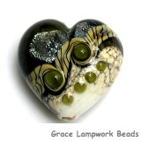 11831225 - Olive Stardust Heart (Large)