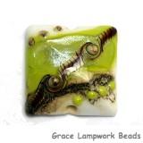 11831704 - Lime Stardust Pillow Focal Bead