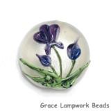 11832302 - Regalia Flower Lentil Focal Bead