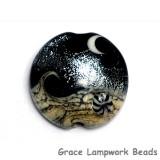 11832802 - Sable Celestial Lentil Focal Bead