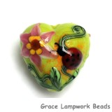 11833105 - Ladybug on Spring Green Heart