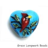 11834505 - Summer Red Cardinal Heart