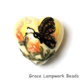 11835105 - Yellow Sparkle Garden Butterfly Heart