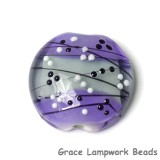 11835302 - Lilac Tea Party Lentil Focal Bead