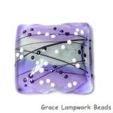 11835304 - Lilac Tea Party Pillow Focal Bead
