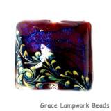 11836104 - Violet Shimmer Pillow Focal Bead