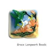 11836204 - Hawaiian Hummingbird Pillow Focal Bead